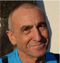Bernard président club de course à pieds courir à sausset