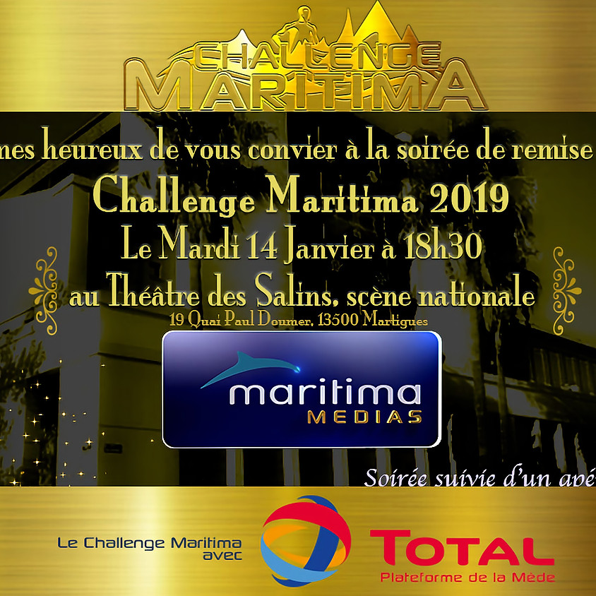 Remise des prix challenge Maritima