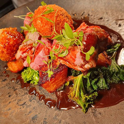 Roasted Loin of Chailey Lamb