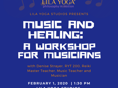 Music and Healing: A Workshop for Musicians