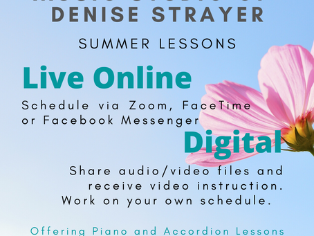 Summer Offerings at Flying Crane Reiki and Music Studio!!