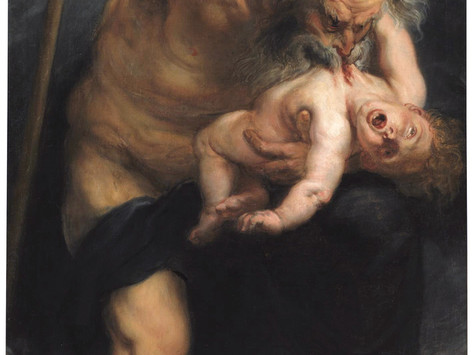 Il vorace Saturno di Rubens.