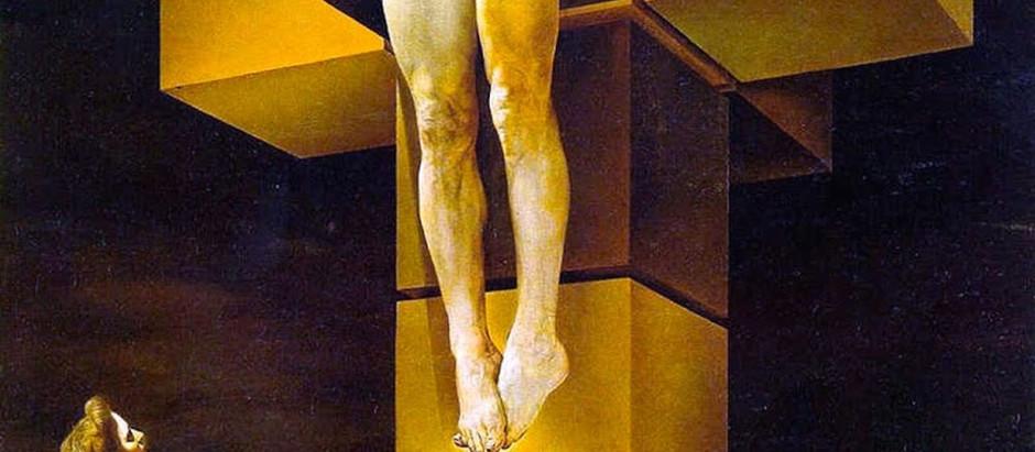 Corpus Hypercubus, di Salvador Dalì.