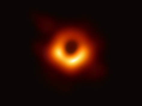 La prima foto di un buco nero.