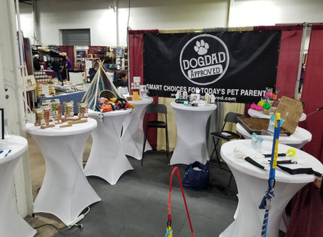 Dogdad Approved Road Show is a Hit! First Stop Philly!