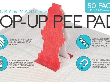 Review: Rocky & Maggies Pop-Up Pee Pad