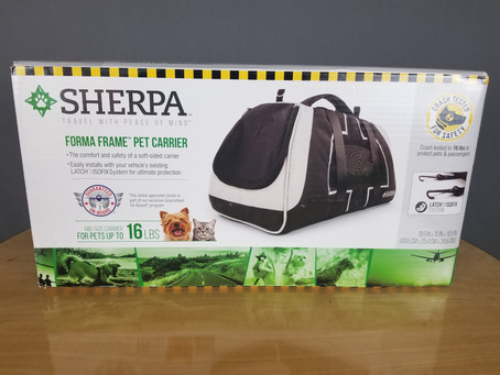 Review: Sherpa Forma Frame Pet Carrier
