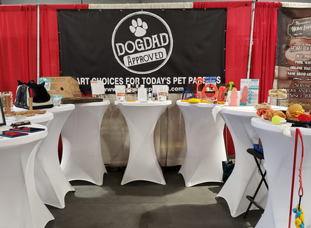 Dogdad Approved Road Show Stop #2, World of Pets Expo, Timonium Md.
