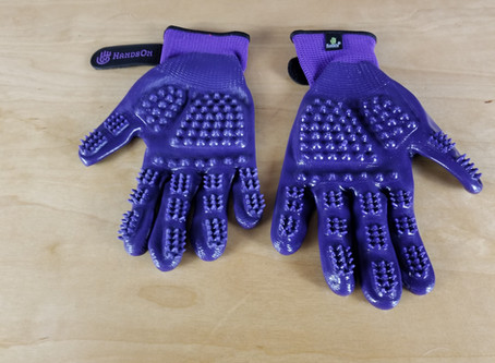 Pet Product Review:  HandsOn Gloves