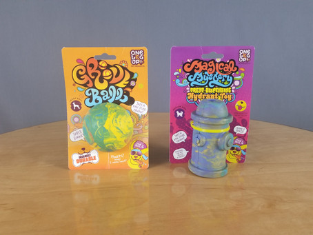 Pet Product Review: The Groovy Dog Toys from One Leg Up Pet Products