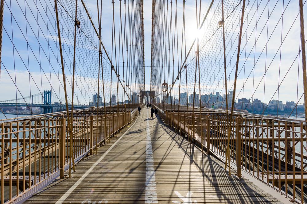 Brooklyn Bridge , NYC