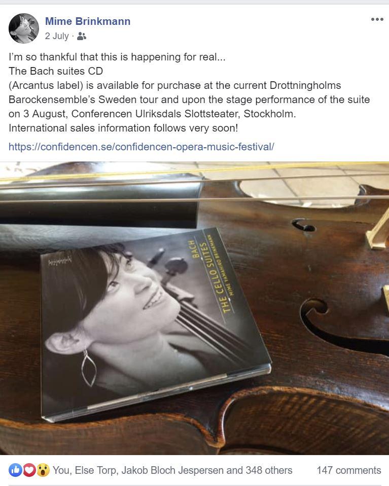 Mime Brinkmann CD