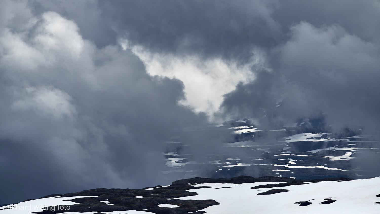 Spørgteggbreen & Jotunheimen