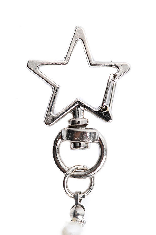 Silver Star Mask Chain