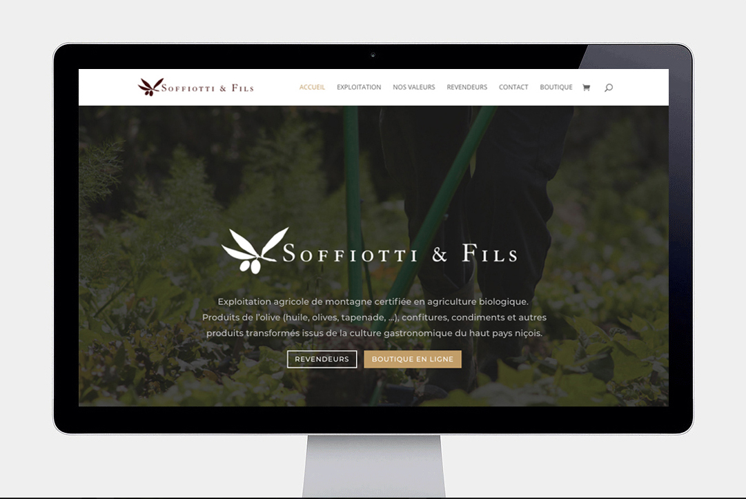 Soffiotti & Fils home page def
