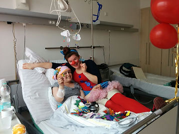 Gesndheit!Clown im Spital