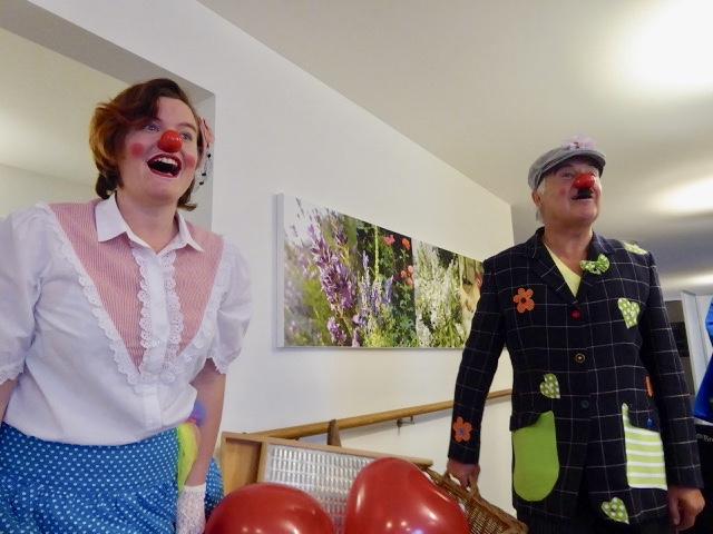 Besuch im Pflegezentrum Nürensdorf