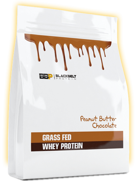 Grass-fed whey protein Peanut butter choc