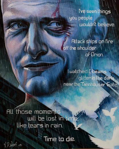 ...like tears in rain.