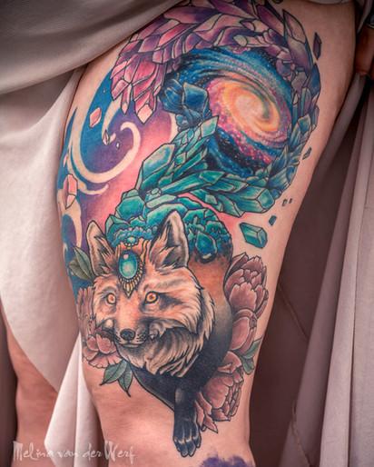 Cosmic fox thigh