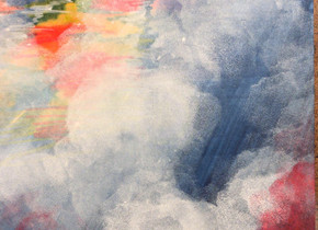 Adding fog effect with gouache