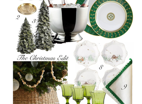 Gift Guide - The Christmas Edit