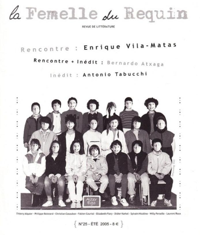 LFDR 25 E. VILA-MATAS / B. ATXAGA