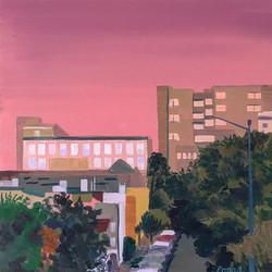 A Still, Rosy Evening