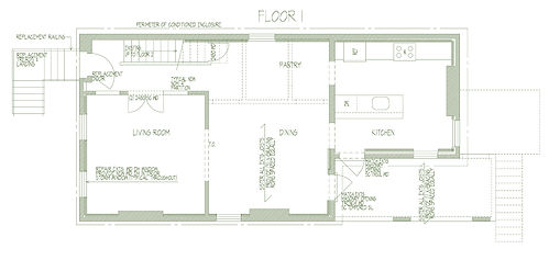 284 Liberty A-101 First Floor Plan 08131