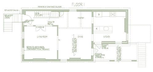 284 Liberty A-101 First Floor Plan 08131