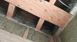 insulation-between joists