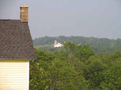 View of farm in the distance