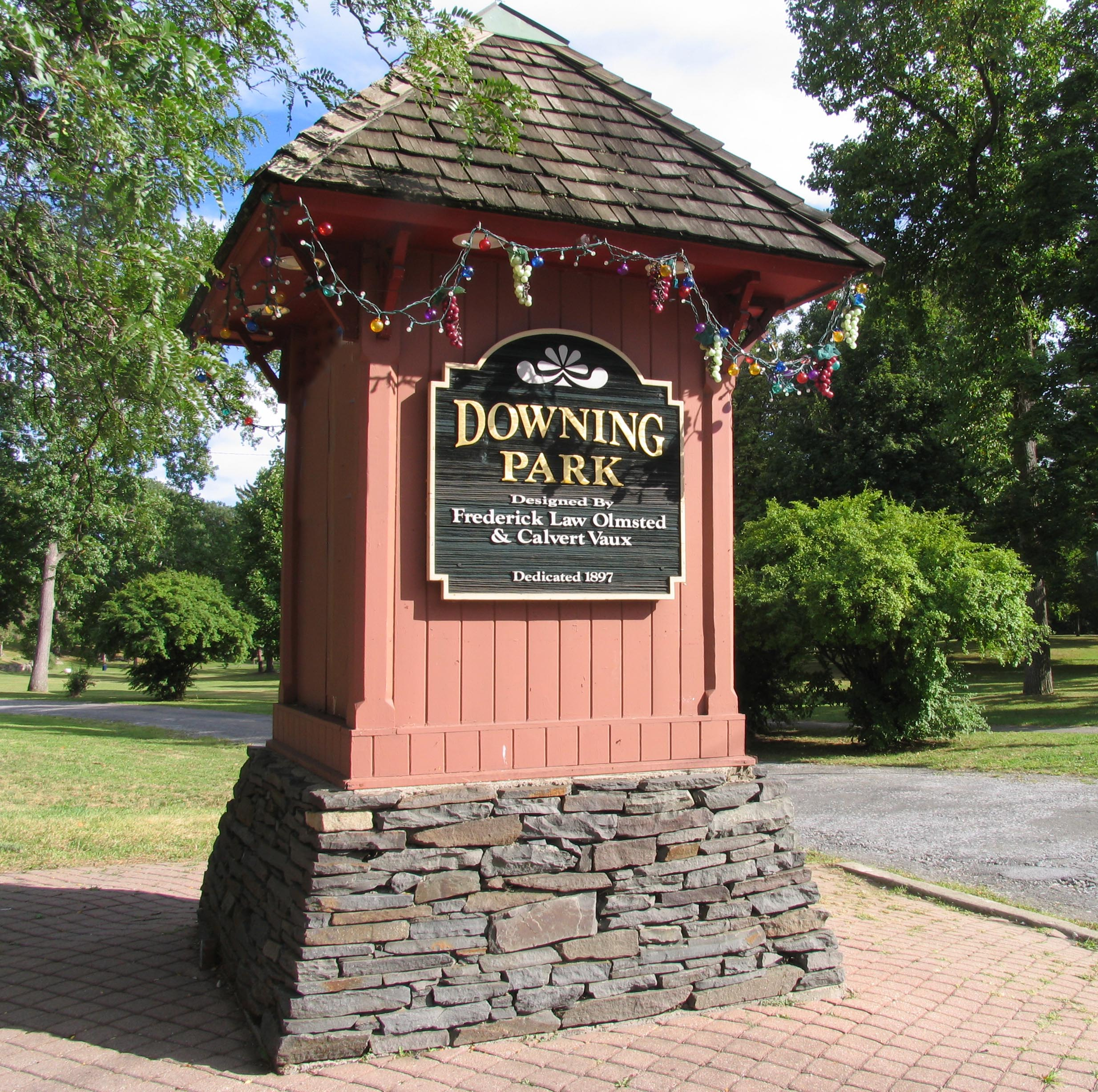 Downing Park Entrance