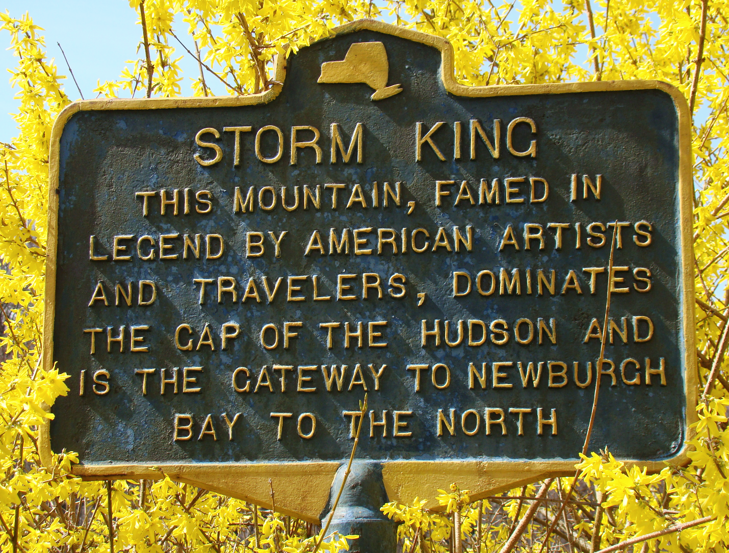 Storm King Mountain Marker
