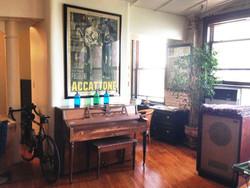 Main studio area