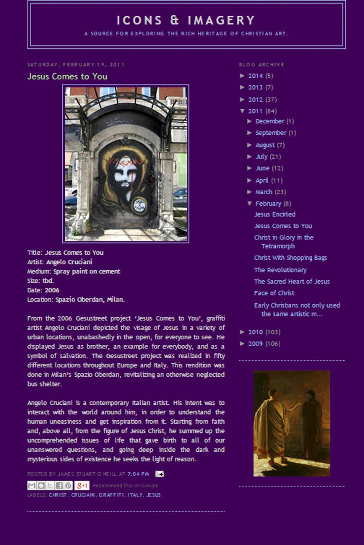 new product ebf13 e28d1 Fullscreen Page | Angelo Cruciani | Communication Artist