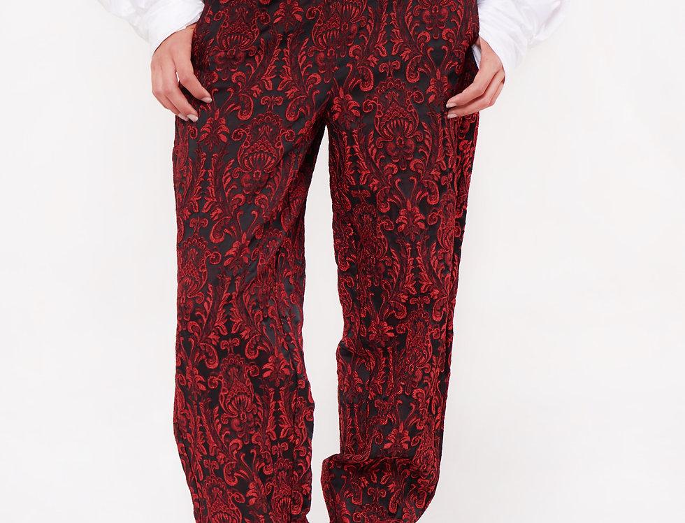 Jacquard trousers