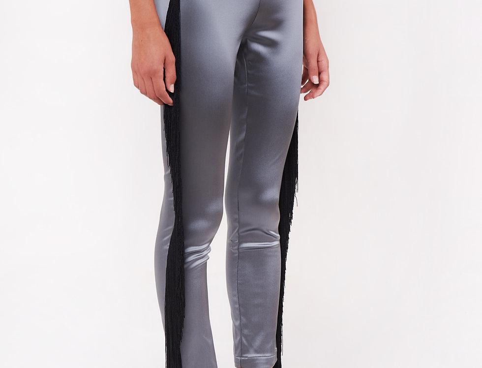 Shiny nylon leggings