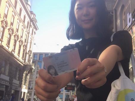 就労滞在許可証Rot-weiß-rot-Karteを取得するまでの4ヶ月