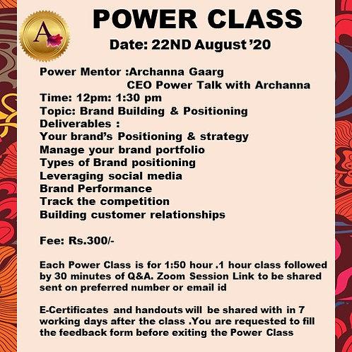 POWER CLASS