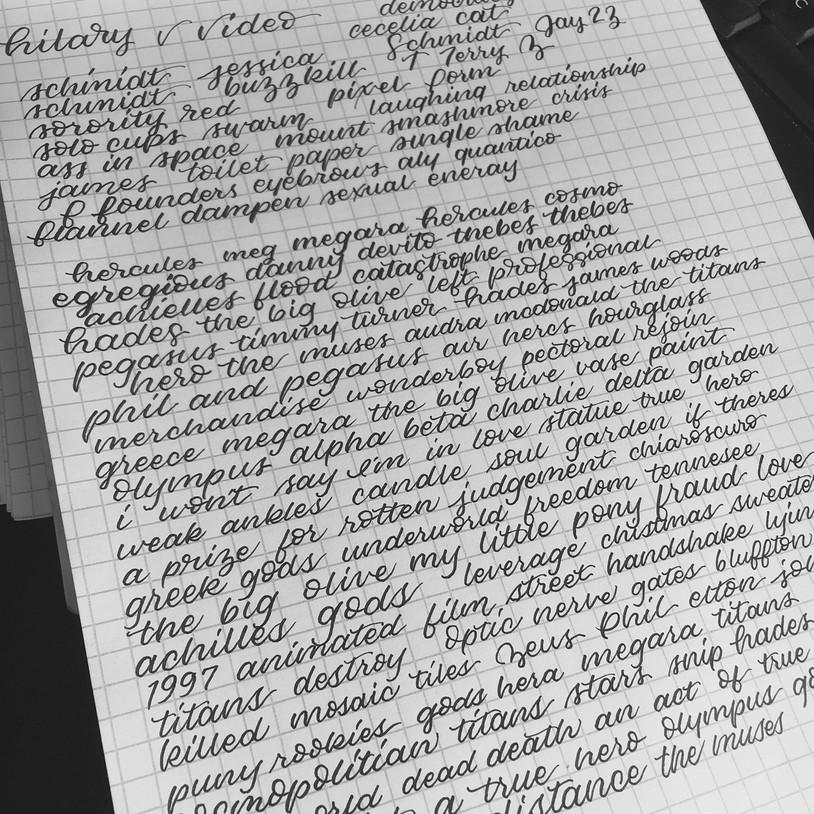 Script Practice