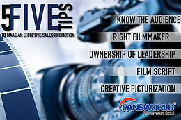 5 Tips to make an effective sales promotion film