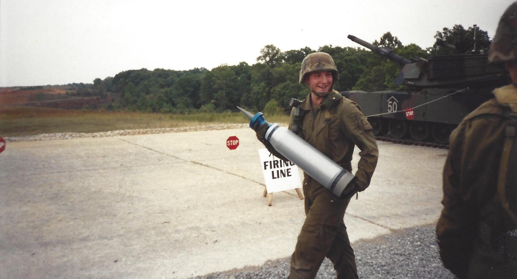 M1 Abrams Armor Crewman Training