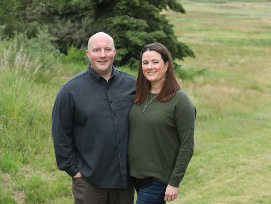Dan and wife Megan Bronoske!