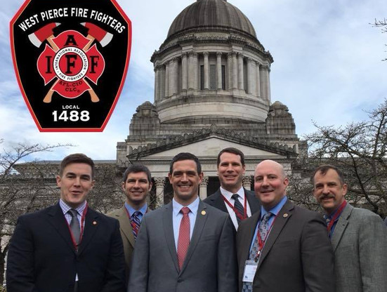 West Pierce Firefighters Union in Olympia