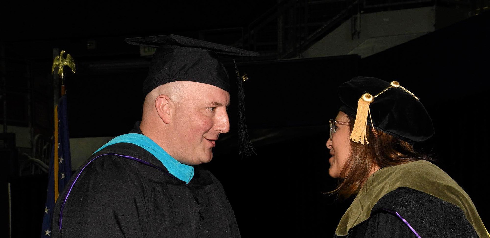 UW Commencement, With Rep. Slatter 48th LD