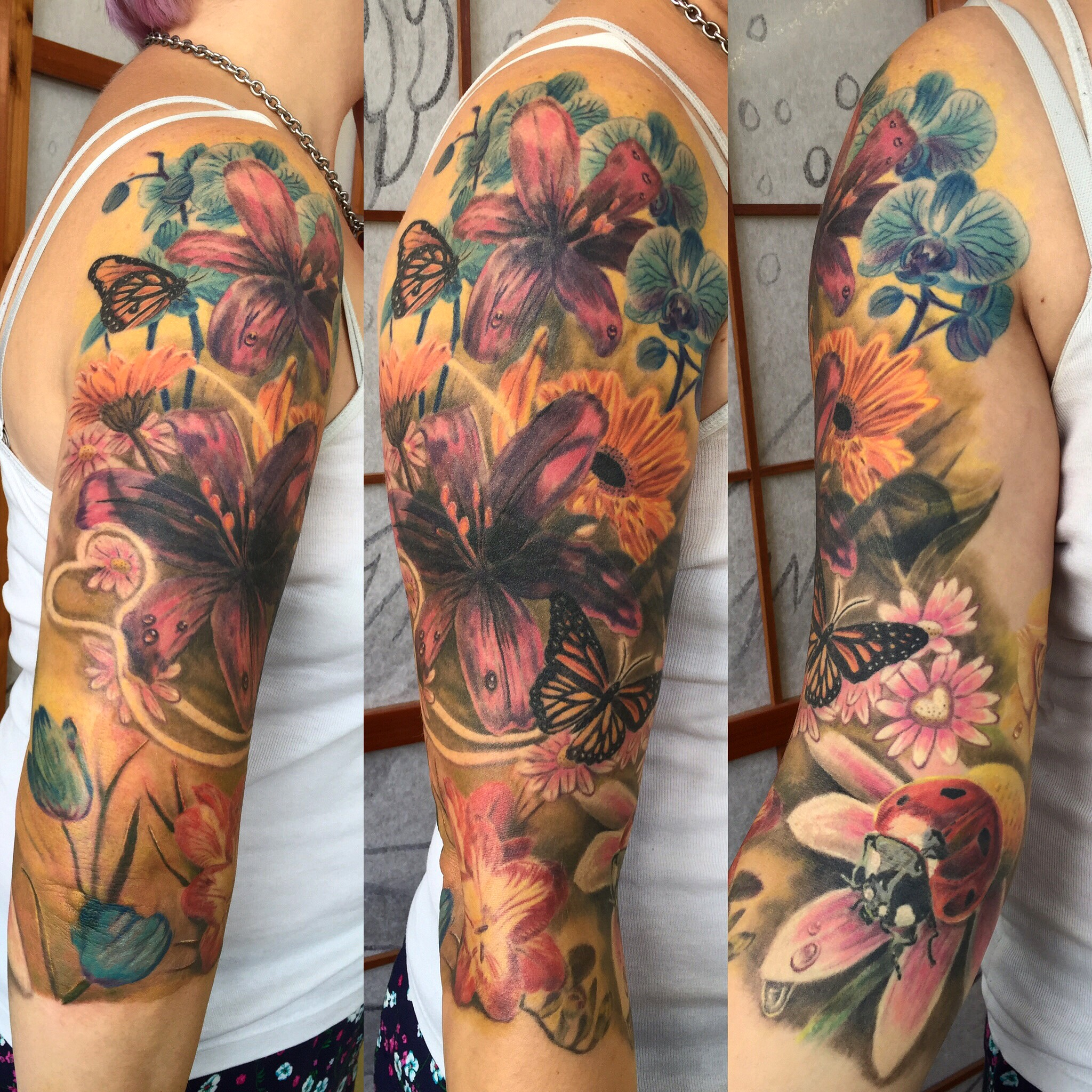 flower sleeve jason parry