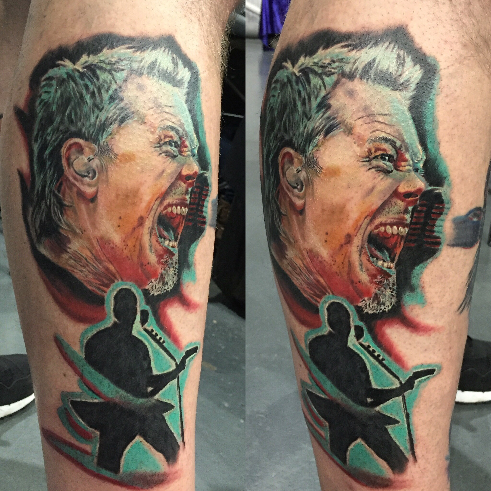 james hetfield tattoo jason parry