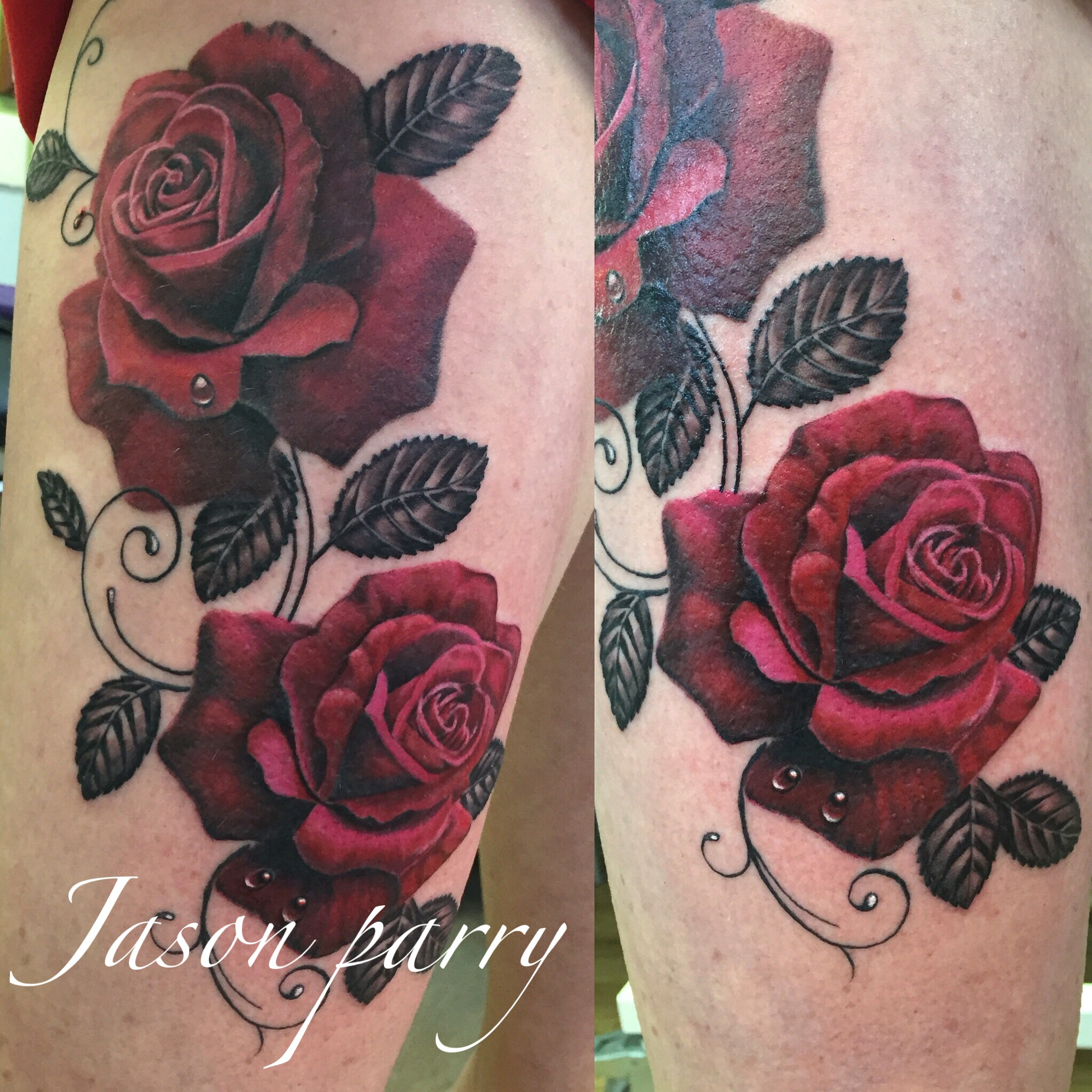 red rose tattoo jason parry