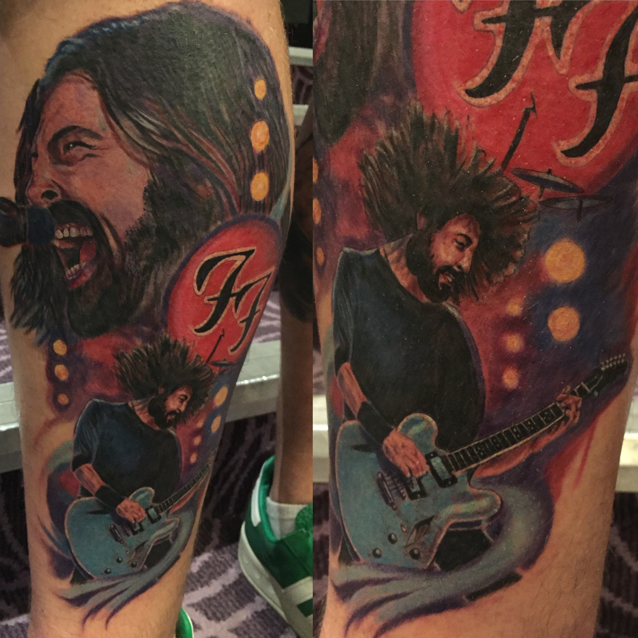 dave grohl tattoo jason parry